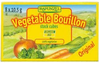 Rapunzel Organic Vegetable Bouillon Cubes 8x10.5g