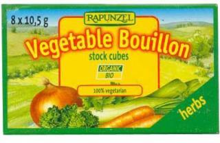 Rapunzel Organic Vegetable Bouillon with Herbs Cubes 8x10.5g