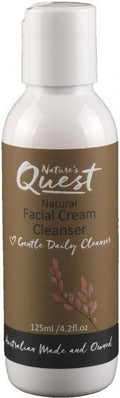 Nature's Quest Facial Cream Cleanser 125ml