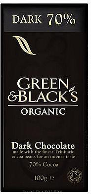 Green & Blacks 70% Dark Chocolate 100g-Health Tree Australia