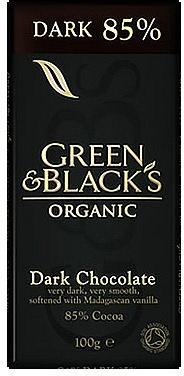 Green & Blacks 85% Dark Chocolate 100g
