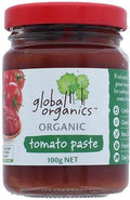 Global Organics Organic Tomato Paste Glass G/F 100g