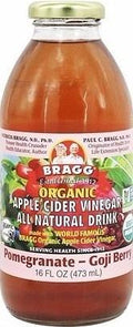 Bragg Apple Cider Vinegar Drink Pomegranate & Goji Organic G/F 473ml