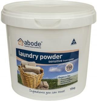 Abode Front Loader Sensitive Laundry Powder 5kg