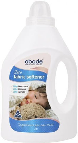 Abode Fabric Softener ZERO Fragrance Free 2L