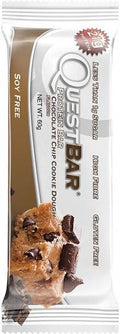 Quest Protein Bar Chocolate Chip Cookie Dough G/F 12x60g