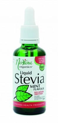 Nirvana Organics Mint Flavour Stevia Liquid 50ml