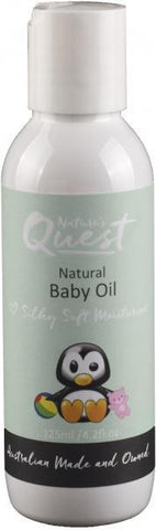 Nature's Quest Baby Massage Oil 125ml