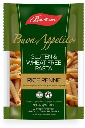 Buontempo Rice Penne 250gm-Health Tree Australia
