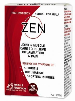 Zen Joint & Muscle Relief 30Tabs-Health Tree Australia