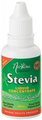 Nirvana Organics Stevia Liquid Concentrate 30ml-Health Tree Australia