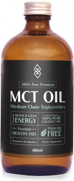 Coconut Magic 100% Pure Premium MCT Oil G/F 480ml