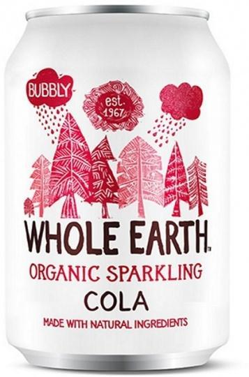 Whole Earth Drink Lightly Sparkling Cola Organic 330mL