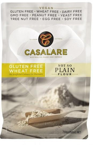 Casalare NOT SO Plain Flour 750g-Health Tree Australia