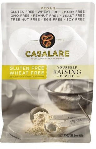 Casalare YOURSELF Raising Flour 750g-Health Tree Australia