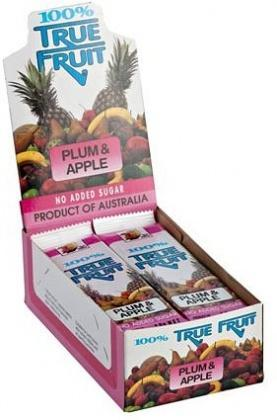 Sun Valley Plum & Apple Fruit Strips 30 x 20 gm