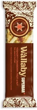 Wallaby Yoghurt Cranberry Fruit&Nut Bar Box 18x50g