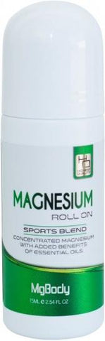 Mgbody Magnesium Roll On Sports 60ml-Health Tree Australia