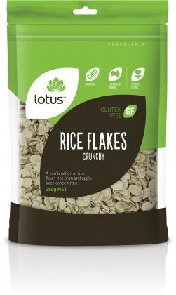 Lotus Crunchy Rice Flakes G/F 250gm