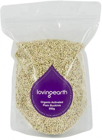 Loving Earth Organic Activated Buckinis 950g-Health Tree Australia