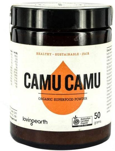 Loving Earth Camu Camu Powder 50g-Health Tree Australia