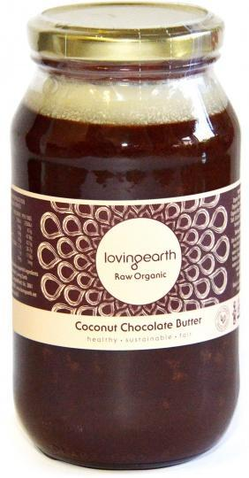 Loving Earth Coconut Chocolate Butter 550g-Health Tree Australia