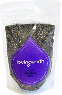 Loving Earth Chia Seeds 200g-Health Tree Australia