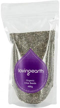 Loving Earth Chia Seeds 450g
