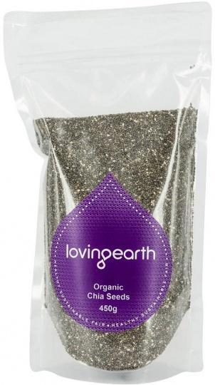 Loving Earth Chia Seeds 450g-Health Tree Australia