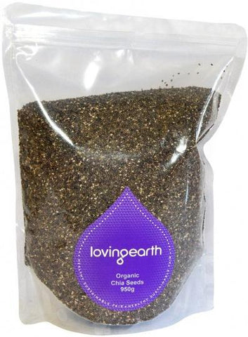Loving Earth Chia Seeds 950g-Health Tree Australia