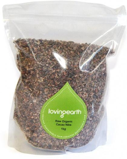 Loving Earth Cacao Nibs 1kg-Health Tree Australia