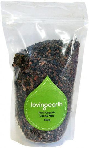 Loving Earth Cacao Nibs 500g-Health Tree Australia