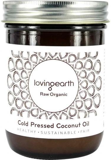 Loving Earth Organic Cold Pressed Coconut Oil 450ml-Health Tree Australia
