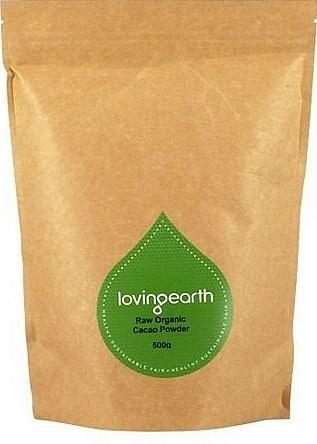 Loving Earth Cacao Powder 500g-Health Tree Australia