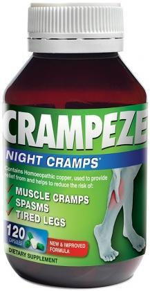Natralia Crampeze Night Cramps 120 Capsules-Health Tree Australia