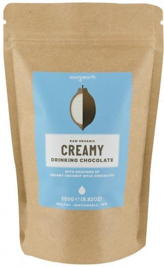 Loving Earth Creamy Drinking Chocolate 250g-Health Tree Australia