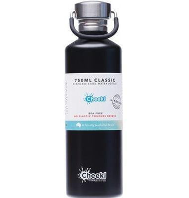 Stainless Steel Bottle  Matte Black 750ml