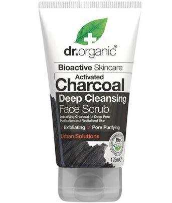 Face Scrub  Activated Charcoal 125ml