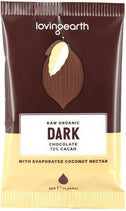 Loving Earth Raw Organic Dark Chocolate 16x30g-Health Tree Australia