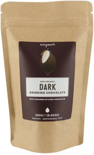 Loving Earth Dark Drinking Chocolate 250g-Health Tree Australia