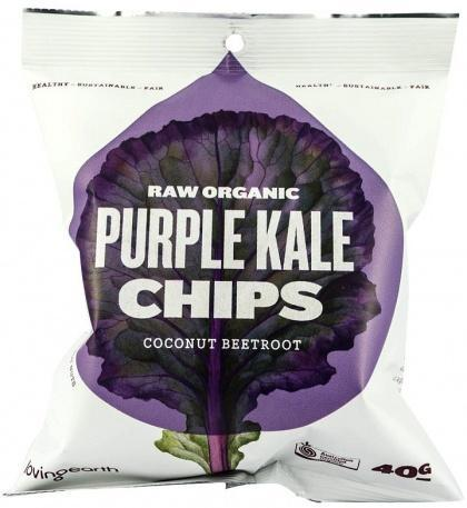 Loving Earth Purple Kale Chips 8x40g-Health Tree Australia