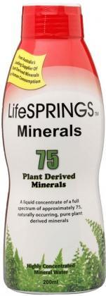 LifeSprings Colloidal Minerals 200ml-Health Tree Australia