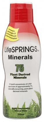 LifeSprings Colloidal Minerals 500ml-Health Tree Australia