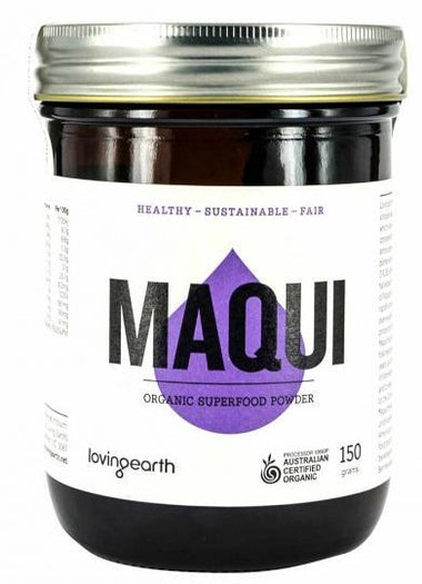 Loving Earth Maqui Powder 150g-Health Tree Australia