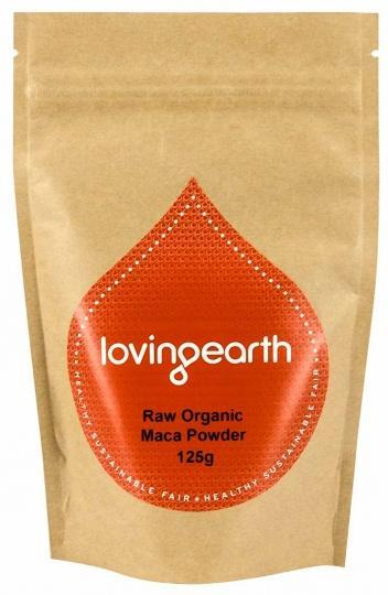 Loving Earth Organic Maca Powder G/F 125g