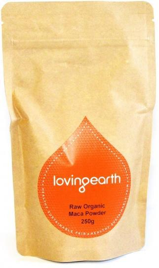 Loving Earth Organic Maca Powder G/F 250g