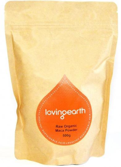Loving Earth Organic Maca Powder G/F 500g-Health Tree Australia