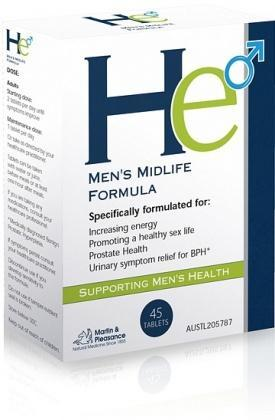 Martin & Pleasance He Men's Midlife Formula 45tabs-Health Tree Australia