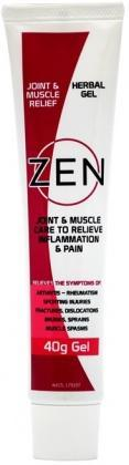 Zen Herbal Joint & Muscle Relief Gel 40g-Health Tree Australia