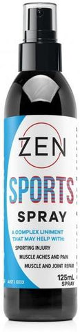 Zen Sports Spray 125ml-Health Tree Australia